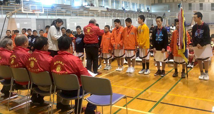 ミニバスケットボール大会と献血運動
