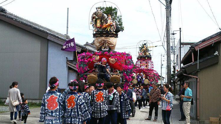 """子どもだけの祭 """"小祢里""""を支援"""