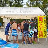 名勝・天橋立で海水浴客の安全を守る