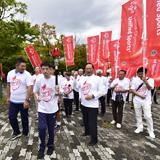 スペシャルオリンピックスの全国大会を支援