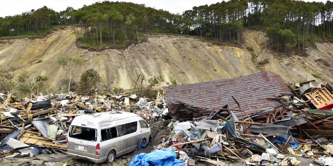 北海道胆振東部地震の被災地で支援活動を展開