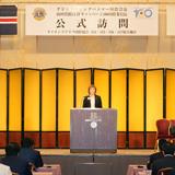 イングバドター国際会長 西日本公式訪問