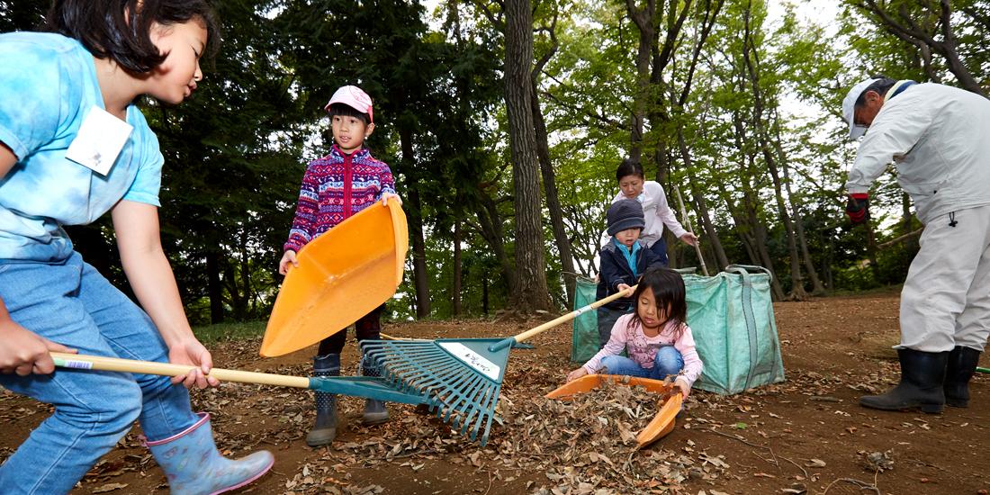 武蔵野に残された里山を 市民と共に守り継ぐ