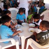 飢えに苦しむ子どもたちに届いた支援の手