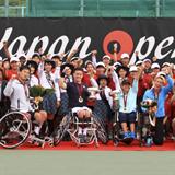 世界有数の大会に成長した飯塚国際車いすテニス大会