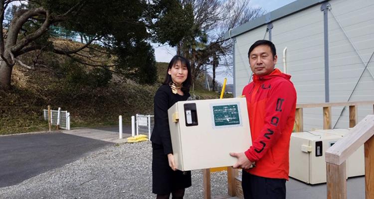 ホテル寄贈の冷蔵庫を 西日本豪雨被災者へ届ける