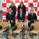 京都第一赤十字病院と洛東園への継続奉仕
