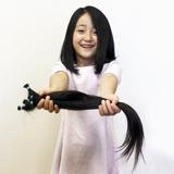初めてのヘアドネーション 7歳の長女が髪の毛を提供