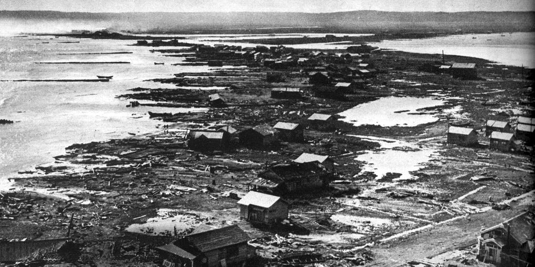 チリ地震津波: 海を渡った津波と支援