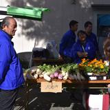 八王子いちょう祭りで街頭募金とバザー