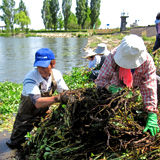 母なる琵琶湖の再生に向け 現場主義で活動を展開