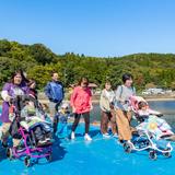 会津通園訓練センターたんぽぽ園の遠足支援