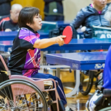 西日本の選手が集まる笑顔あふれる卓球大会