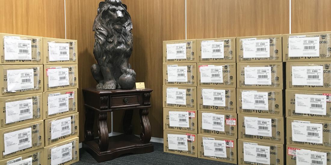 新型肺炎の流行防止に 中国ライオンズを支援