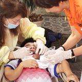 ベトナムの施設で 歯科治療奉仕