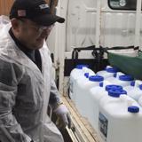 市内60カ所に 次亜塩素酸水を寄贈