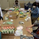 手作りマスク800枚を 福崎町に寄贈