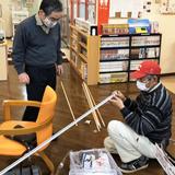 松戸献血ルームの飛沫感染防止対策に協力