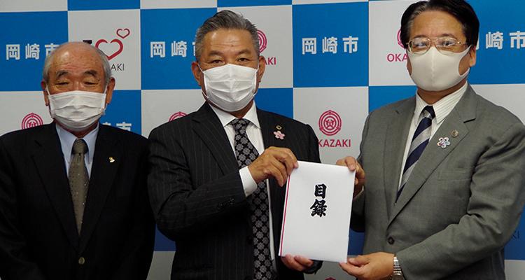 クラブ結成60周年に病院等へマスクを寄贈
