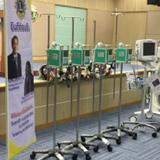 LCIF交付金でタイへ医療機器を寄贈
