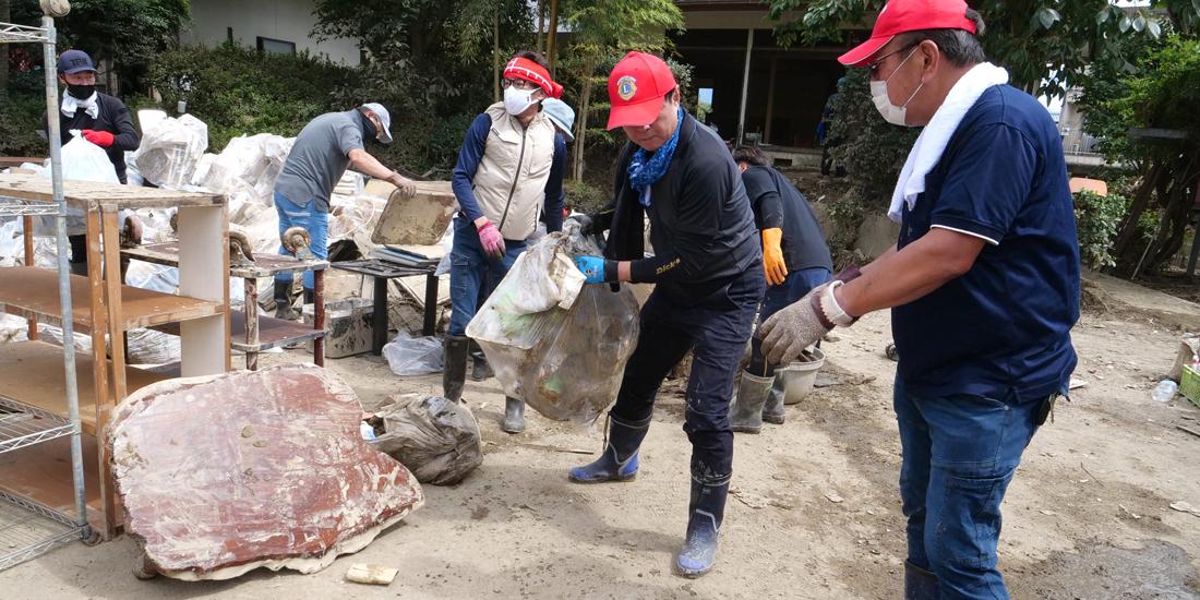 被災者の元へ迅速な支援を 熊本南部豪雨被災地支援