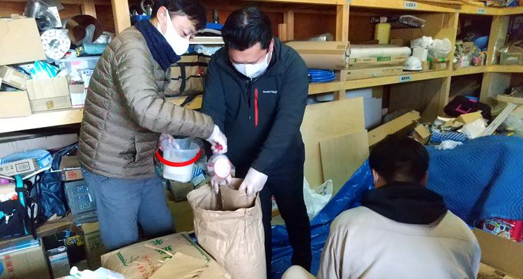 生活困窮世帯に米1トンを支援