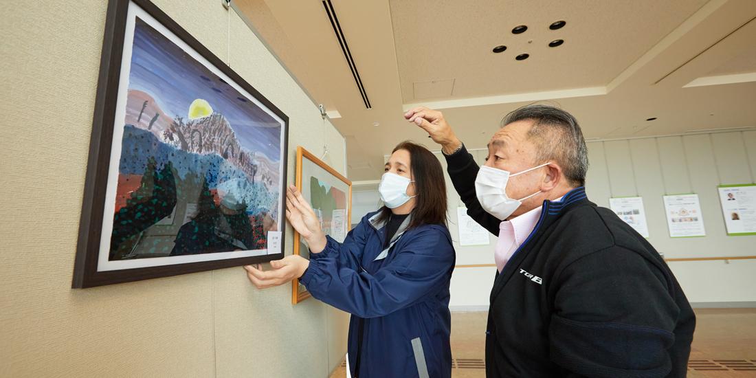 環境を考える子ども絵画展開催