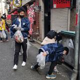 レオ335-A地区主催 三宮周辺清掃活動を通じて