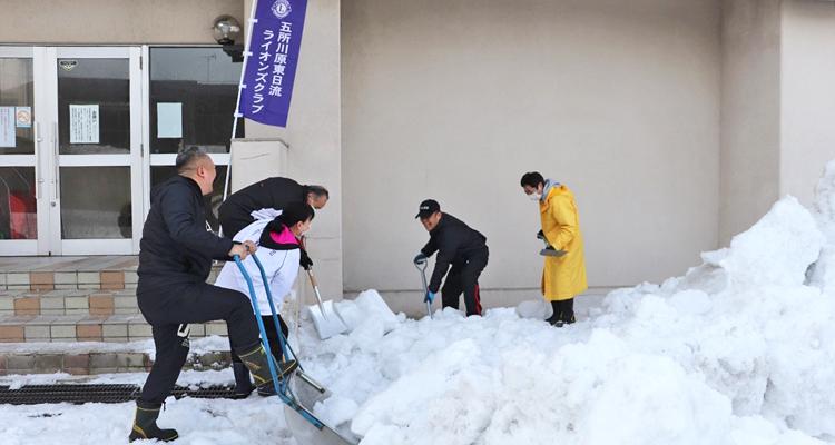 市民のために続けて30年 除排雪活動