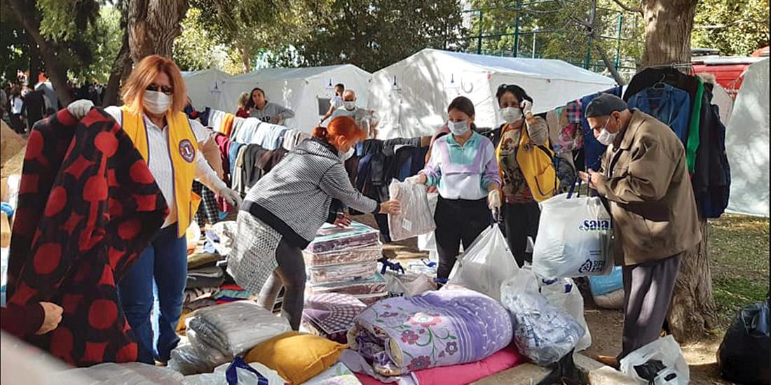 家族のように寄り添う地震被災地支援
