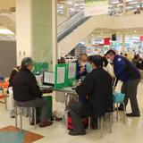 コロナ禍の献血減に対応 緊急献血推進活動