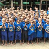 困窮するミャンマーの孤児院への支援