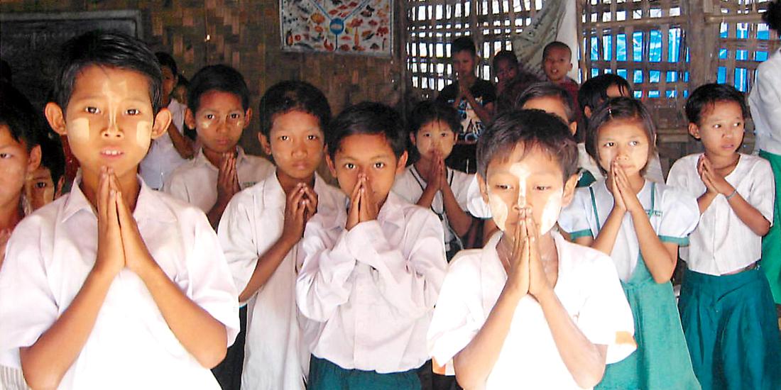 ミャンマーの子どもたちへ支援を続けて30年